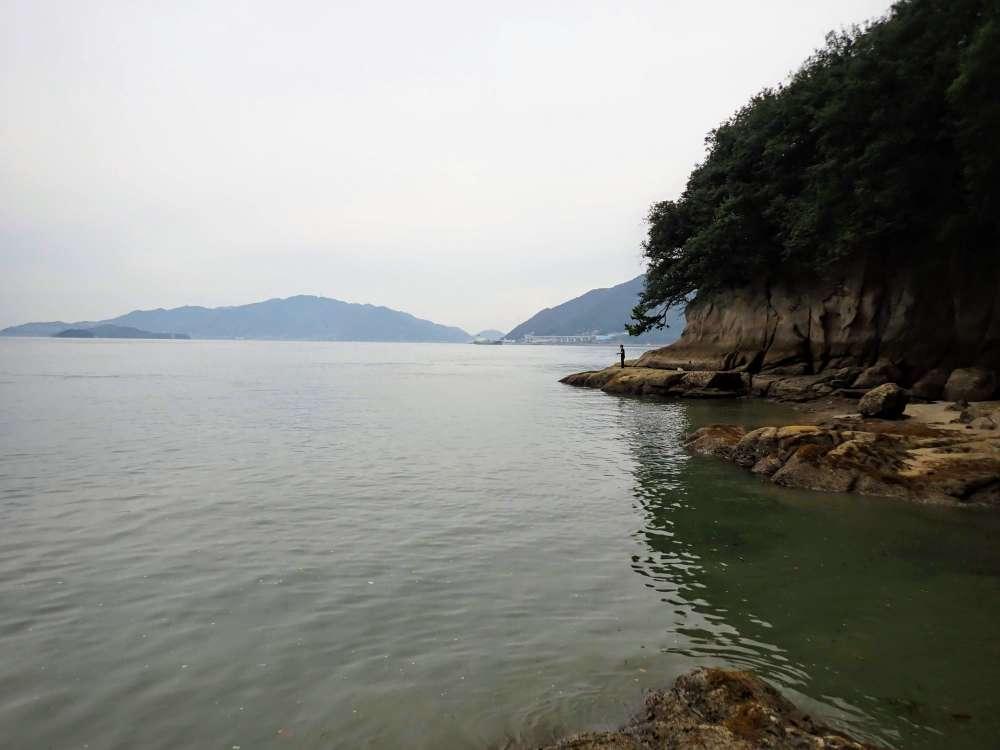 岩子島の地磯